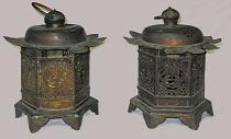 金銅釣灯籠(愛知県指定文化財)