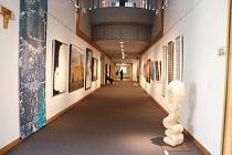 2018一宮市現代作家美術秀選展 展示風景